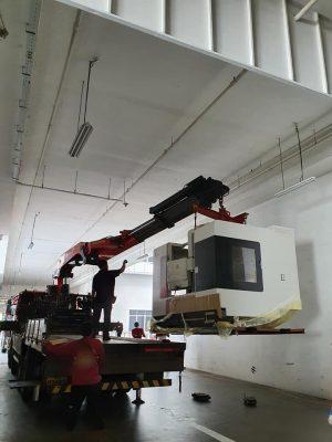 Focaseiki PM1100 Vertical Machining Centre